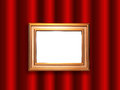Decorative frame for a photo Royalty Free Stock Image