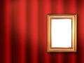 Decorative frame for a photo Royalty Free Stock Photography