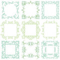 Decorative frame set I Royalty Free Stock Photography