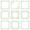 Decorative frame set II Royalty Free Stock Photography