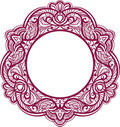 Decorative frame. Vintage ornamental element. Stock Image