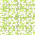Decorative geometric pattern. Vector