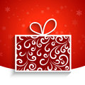 Decorative gift box Royalty Free Stock Photo