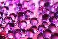 Decorative Glass Balls Stock Photo