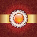 Decorative glossy ball background Royalty Free Stock Images