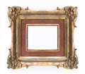 Decorative golden frame - ornate frame , classical Royalty Free Stock Photo