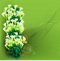 Decorative green framework Royalty Free Stock Photography