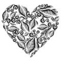 Decorative heart Stock Photography