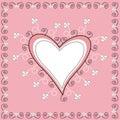 Decorative Heart Royalty Free Stock Photos
