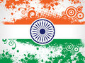 Decorative Indian National Flag. Stock Image