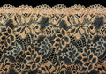 Decorative lace with pattern Royalty Free Stock Images