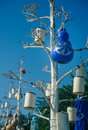 Decorative Lamps On The Trees ...