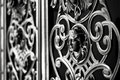 Decorative metal gate Royalty Free Stock Photo