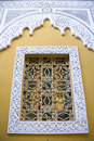 Decorative Moroccan window Royalty Free Stock Photo