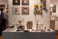 Decorative objects on display at HOMI, home international show in Milan, Italy Stock Images