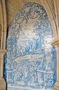 Decorative panels in Porto Cathedral