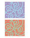 Decorative pattern spiral Royalty Free Stock Photo