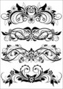 Decorative Patterns Royalty Free Stock Photos