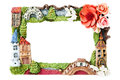 Decorative photo frame Royalty Free Stock Photo