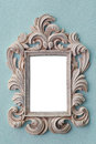 Decorative picture frame  Stock Photo
