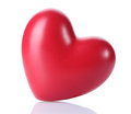 Decorative red heart Royalty Free Stock Images