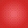 Decorative red seamless wallpaper, vector illustra Stock Image