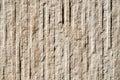 Decorative relief cladding slab imitating stone on wall closeup Royalty Free Stock Photos