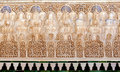 Decorative reliefs and tiles - islamic art Stock Photography