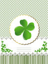 Decorative Saint Patrick card Stock Images