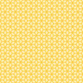 Decorative Seamless Floral Geometric Pattern Background
