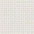 Decorative Seamless Geometric Vector Pattern Background Royalty Free Stock Photo