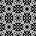 Decorative seamless pattern Stock Image
