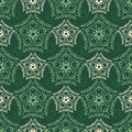Decorative seamless pattern with floral beauty vintage ornament for design Royalty Free Stock Photo