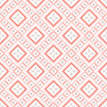Decorative seamless pattern geometric vector Royalty Free Stock Image