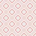 Decorative seamless pattern geometric vector Royalty Free Stock Image