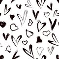 stock image of  Abstract seamless heart pattern