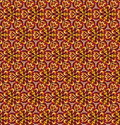Decorative seamless pattern for home decor. Vector background flower texture. Autumn colors.