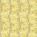 Decorative seamless pattern net Stock Photo