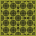 Decorative seamless pattern ornament background Stock Photos