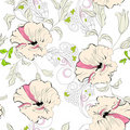 Decorative seamless walpaper Stock Photos
