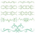 Decorative set I Royalty Free Stock Photos