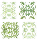 Decorative set V Royalty Free Stock Image