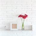 Decorative shelf Royalty Free Stock Photo