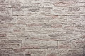 Decorative slate stone wall Royalty Free Stock Photo