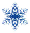 Decorative Snowflake Ornament Vector Royalty Free Stock Photography
