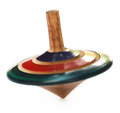 Decorative spinning top Royalty Free Stock Photo