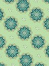 Decorative Star Patterns Blue Royalty Free Stock Image