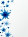 Decorative stars background creative abstract vector illustration Stock Photos