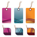 Decorative tags Royalty Free Stock Photo