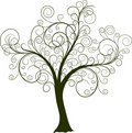 Decorative tree, vector Royalty Free Stock Photography